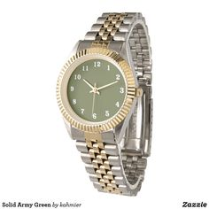 Solid Army Green Wat