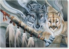 Beautiful art from Jody Bergsma and Leanin' Tree -- May Peace Be Your Gift Always
