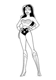 Wonder Woman Ausmalbilder 19 Ausmalbilder