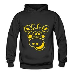 Lennakay Work Adults Cute Deer Workout Hoodie With No Pocket Black For Woman SizeS *** For more information, visit image link.