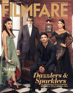Sushant Singh Rajput joins Amitabh Bachchan Aishwarya Rai Bachchan and Alia Bhatt on Filmfare cover Bollywood Images, Bollywood Stars, Bollywood Fashion, Bollywood Updates, Actress Aishwarya Rai, Bollywood Actress, Indian Celebrities, Bollywood Celebrities, Bollywood Wallpaper