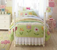 Girls Garden Themed Bedroom • Tutorials and ideas!