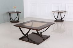 Generation Trade 3 PC 717300 Chelsea Brown Coffee & End Table Set Coffee And End Tables, End Table Sets, Occasional Tables, Chelsea Brown, Brown Coffee, Home Upgrades, Cocktail Tables, Discount Furniture, Bar Grill