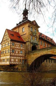 Old Town Hall (circa 1386) Bamberg, Germany | Flickr - Photo by carrie mck