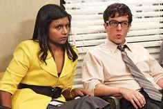 Mindy Kaling and BJ Novak! #TheOffice