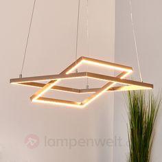 Eckige LED-Pendellampe Torna, verstellbar sicher & bequem online bestellen bei Lampenwelt.de.