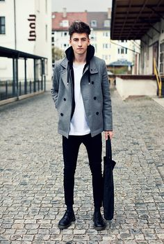 Get this look: http://lb.nu/look/3373783  More looks by Christoph Schaller: http://lb.nu/christophschaller  Items in this look:  Bag By Cheap Monday, Jeans By H&M, Dr. Martens Doc Martens Shoes, C Os Coat, Cheap Monday T Shirt