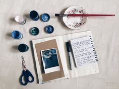 Art Journal With Me - A City By The Sea (poetry + visual storytelling video)  // art journaling to do, tumblr instagram aesthetics photography idea, notebook, polaroid //