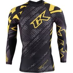 Contract Killer never fails to provide cutting edge tech, comfort and fighting style! Live the fight life with Contract Killer Droid Long Sleeve Rashguards. Long sleeve full sublimated rashguard for comfort and durability Features Contract Killer logos graphics 4-way stretch through out Flat stitch process for durability Limited Production