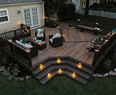 Image result for composite decking in backyard