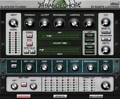 Bandecho is a plugin modelled after vintage tape echoes (kvraudio, 2012)