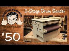 Two Stage Drum Sander