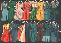 LIBERTY BELLES PAPER DOLLS 1943 MERRILL | eBay