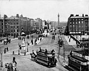 Trams on Sackville Street
