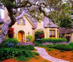 Fairy-tale house ...