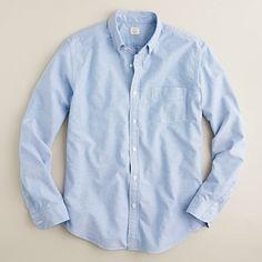 J.Crew Vintage Solid Oxford Shirt. $68.