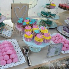 Στολισμός Βάπτισης-Candybar Βάζο γεμάτο καρδιές Cake, Desserts, Food, Pie Cake, Tailgate Desserts, Pie, Deserts, Cakes, Essen