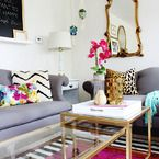 Los Angeles Home Tour of Because I'm Addicted - Style Me Pretty Living