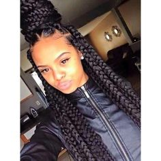 75 Super Hot Black Braided Hairstyles To Wear ❤ liked on Polyvore featuring accessories, hair accessories, hair, girls, people, pic and black hair accessories