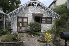 The beer can house in Houston is now looked at as an artistic and historical landmark
