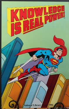 Vintage Superman Chains Of Kryptonite Animation Print Poster Picture A3 A4