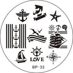 Nail-Art-Image-Stamp-Template-Stamping-Plates-DIY-Design-Manicure-BP-Series-1-55