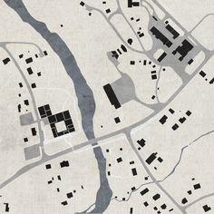 TERROIR . Skogfinsk Museum . Svullrya (10) Architecture Site Plan, Architecture Concept Drawings, Architecture Graphics, Architecture Visualization, Architecture Portfolio, Site Development Plan, Interior Design Presentation, Map Design, Layout Inspiration