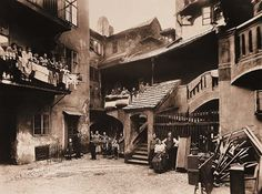 The old Jewish town in Prague