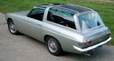 Scimitar Straight Shooting Brake by Ogle Regal Car, Shooting Break, Callaway Corvette, Aston Martin Virage, Microcar, American Classic Cars, Vintage Sports Cars, Car Mods, Jaguar E Type