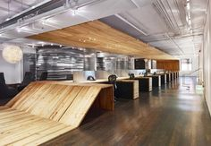 Red Bull offices by Johnson Chou, Toronto office design Corporate Interiors, Corporate Design, Office Interiors, Retail Design, Interior Work, Office Interior Design, Interior Architecture, Interior Paint, Design Commercial