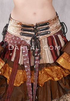 Lace Up Silk Brocade Belt - Many Colors Available - Dahlal Internationale Inc Teal And Gold, Blue Gold, Costume Shop, Brocade Fabric, Black Canvas, Dance Outfits, Black Faux Leather, Belly Dance, Dance Costumes