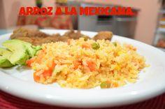 CHUCHEMAN Como hacer arroz a la Mexicana-Recetas Mexicanas
