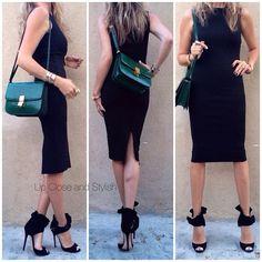 Up Close and Stylish @upcloseandstylish Instagram photos | Websta (Webstagram) Last night - #HM dress, croc #Celine 'Box' bag and #JimmyChoo 'Katarina' heels. (10 august 2014)