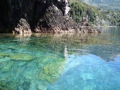 Villa Traful Patagonia -Argentina Aguas transparentes y cristalinas. Espectacular!!!