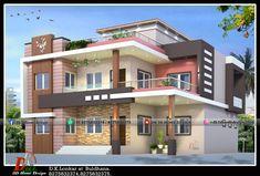 Single Floor House Design, Two Story House Design, Modern Small House Design, Modern Villa Design, Modern Exterior House Designs, Latest House Designs, Duplex House Design, Simple House Design, House Outside Design