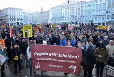 Avusturya'da PEGIDA'ya Anti-PEGIDA engeli