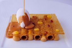 Dessert at Le George - slated butter caramel. Photo: Four Seasons Hotels & Resorts Chateau Frontenac, Paris Champs Elysees, Luxury Collection Hotels, Four Seasons Hotel, Find Hotels, Paris Travel, Hotels And Resorts