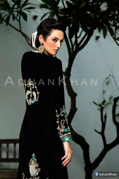 Adnan Khan Collection, Model: Saadia