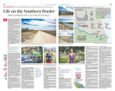 Life on the Southern Border|The Epoch Times #newspaper #editorialdesign