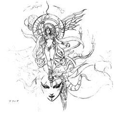 Final Fantasy VI - Goddess (kana reads Sophia)