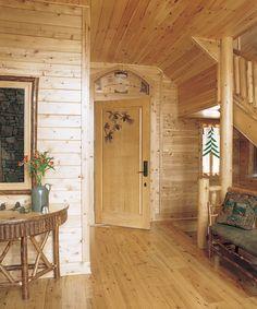 Pine Lodge Knotty Walls Paneling Cedar Rustic