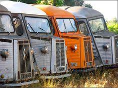 Citroen HY or H Van – toyota chinook Citroen Van, Citroen Type H, Small Trucks, Old Trucks, Classic Trucks, Classic Cars, Toyota Chinook, Strange Cars, Cool Campers