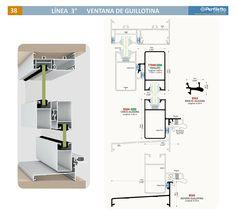 Ventana de Guillotina Perfiletto ®| Catálogo Virtual Perfiletto