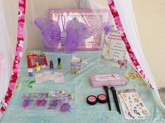 Favors at a Tinkerbell Party #tinkerbell #party