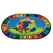 Discount School Supply - Jesus Loves the Little Children Carpets