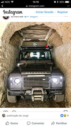 Just as well he doesnt want out! Land Rover Defender, Defender 90, Jeep Cars, Jeep 4x4, Best Plasma Cutter, Offroad, Jeep Wagoneer, Expedition Vehicle, Land Rover Discovery