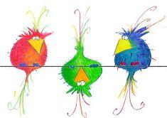 Moist Pumpkin Bread (One Bowl) – Orion - Schmetterling Bird Drawings, Cartoon Drawings, Cute Drawings, Cartoon Bird Drawing, Cartoon Birds, Funny Birds, Bird Doodle, Doodle Art, Watercolor Bird