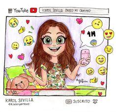 yyyyyyy… Que se pare el mundo!  Karol Sevilla  Felicitaciones por 4 millones de suscripersons!  Para nosotros los/as Karolistos/as, para mi, como suscripersons todo lo que haces para hacernos reír, distraernos, divertirnos, emocionarnos,...