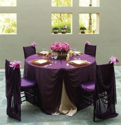 61 best Purple Brown Wedding Inspiration images on Pinterest | Ideas ...