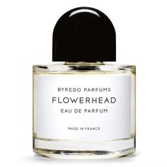 Sophie Holt's 10 favourite things: 2. BYREDO FLOWERHEAD EDP is my favourite fragrance. It's made up of white flowers (jasmine and tuberose) so it's fresh and crisp. I like that it's not overly sweet.